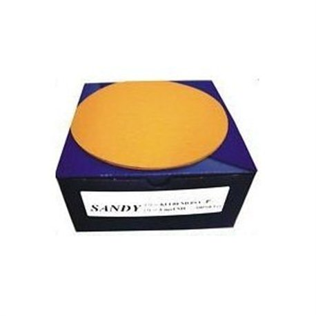 Mirka Sandy Self adhesive Orbital Stick it Sanding Discs P120