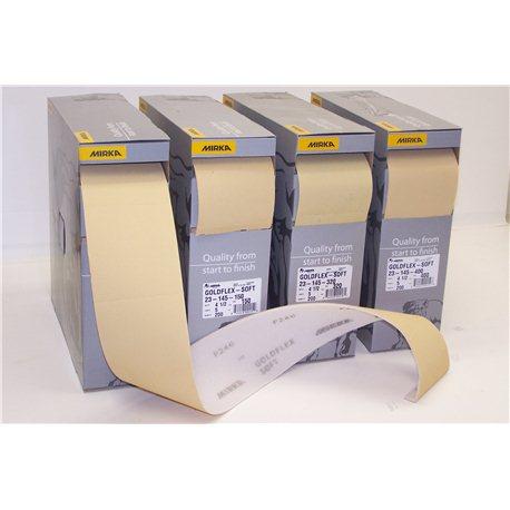 Goldflex Soft Foam Backed Abrasive Pads 200 per box P180