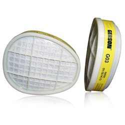Gerson Face Mask Cartridges Respirator Filters x2 G03E