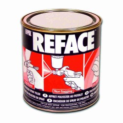 Upol Reface 1Ltr polyester Spray Filler + catalyst hardener