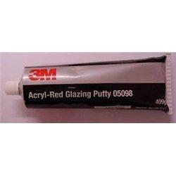 3M acryl-Red Glazing Putty 05098