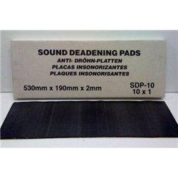 Sound Deadening Pads (10 Pack) 530X190X2mm