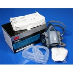 3M 06783 Paint Spray and Respirator and Filter Pack