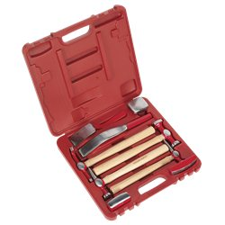 Sealey 9 piece Panel Beating Set in Case