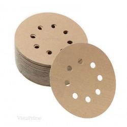 Mirka Sandy Velcro Grip Orbital Sanding Discs P80