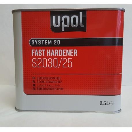 S2030 - 2.5 Ltr Fast Upol Hardener