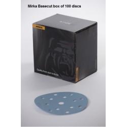 Mirka BASECUT P80 150mm Discs 15Hole