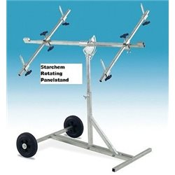 Rotating Body Shop Panel Stand